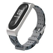 Dây silicone thay thế họa tiết camo Mijobs cho Mi Band 3